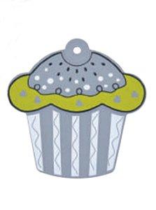 Descanso p/ Panela Cupcake Cinza