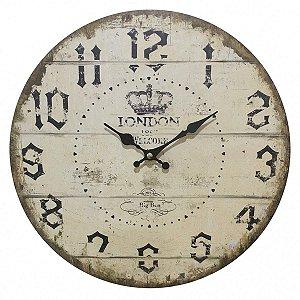 Relógio de Parede London 33,8cm