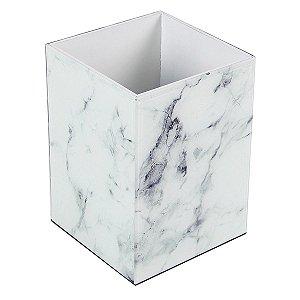 Porta Escovas Vidro Branco