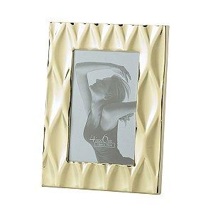 Porta Retrato Diamond Dourado 10x15cm