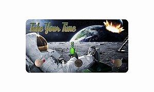Porta Chaves Metal Astronauta