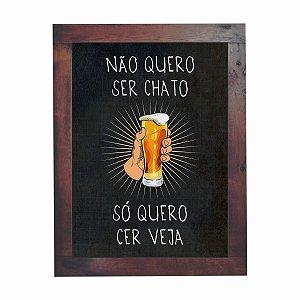 Quadro Azulejo Cerveja