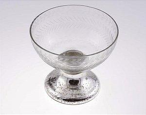 Taça de Vidro Decorativa 16cm