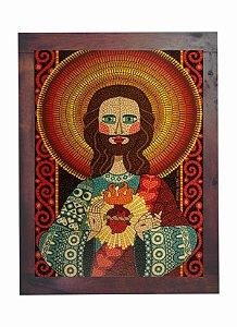 Quadro Azulejo Jesus