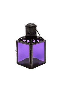 Lanterna Decorativa Lilás