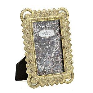 Porta Retrato Dourado 10x15cm II