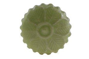 Puxador p/ Porta Cerâmica Verde 4cm