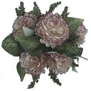 Mini Buquê de Crisântemo Rosa
