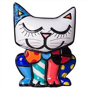 Figura Gato Miniatura - Romero Britto