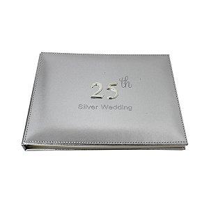 Livro de Assinaturas Bodas de Prata