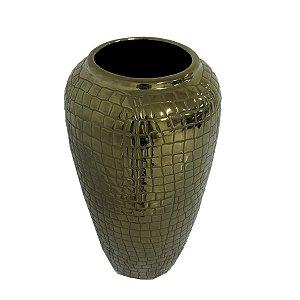 Vaso Dourado 30 Cm