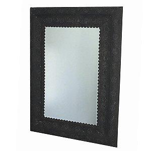 Espelho Metal Retangular