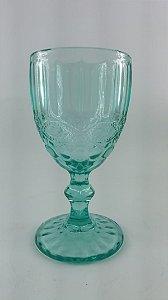Conjunto 6 Taças p/ vinho Libélula Azul Tiffany