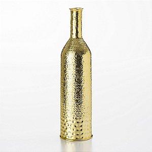 Vaso Cerâmica Dourado 52 Cm