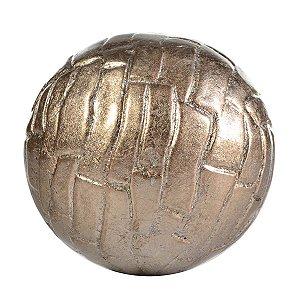 Bola Decorativa Ouro 11 Cm