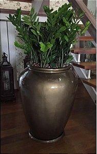 Vaso Ouro Envelhecido Potira 84 Cm