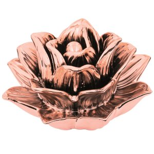 Flor decorativa Rose Gold