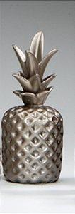 Abacaxi Decorativo Chic Prata G
