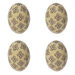Conjunto 4 Ovos Coloridos C