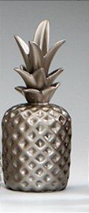 Abacaxi Decorativo Chic Prata M