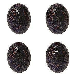 Conjunto 4 Ovos Coloridos D