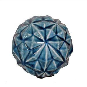 Bola de Cerâmica Azul
