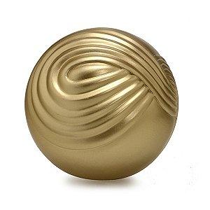 Bola Dourada Trançada