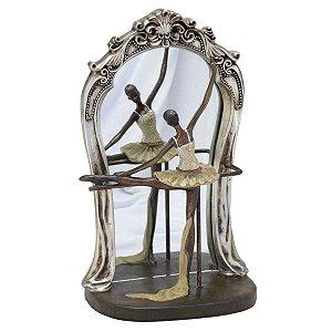 Bailarina c/ espelho decorativo