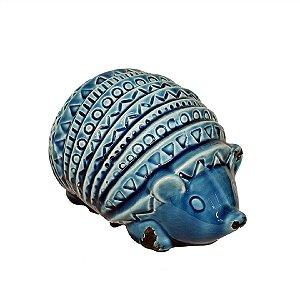 Tatu em Cerâmica Deitado