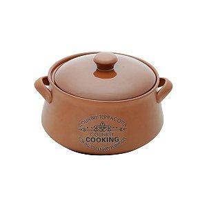 Caçarola Country Cooking Marrom 16cm
