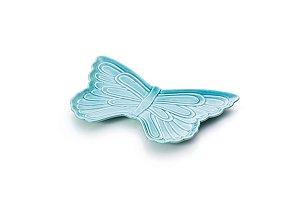 Borboleta decorativa Azul 30cm