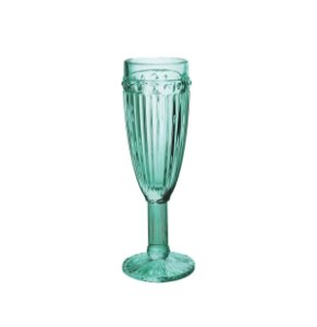 Conjunto 6 Taças Champagne Azul Tiffany 170ml
