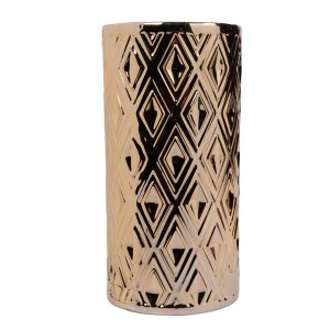 Vaso decorativo Dourado 28,5cm