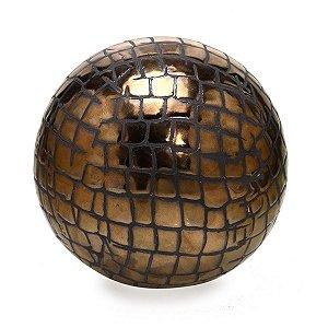 Bola Decorativa Bronze