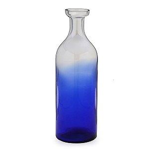 Vaso de vidro Azul 41cm