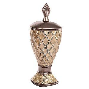 Pote Decorativo Dourado