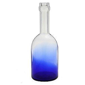 Vaso de vidro Azul 38cm