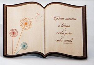 Livro decorativo Reflexões - Dente de Leão
