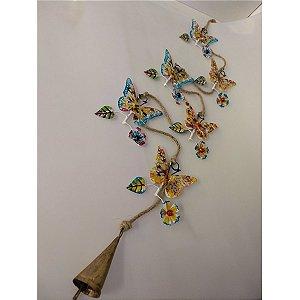 Tira borboleta colorido