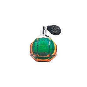 Frasco p/ perfume com borrifador verde