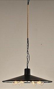 Pendente Preto 60cm
