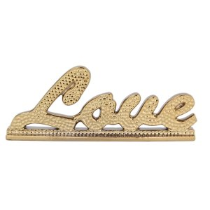 Enfeite Love 31cm