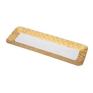 Travessa Vera Gold 35,5x12cm