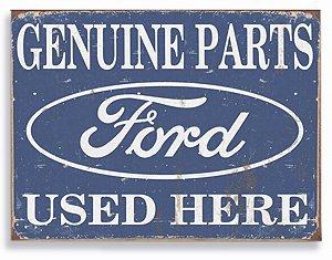 Placa Peças Ford