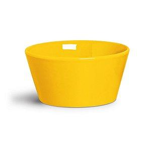 Cachepot amarelo 12cm