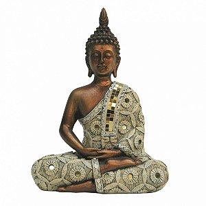 Buddha de resina 21,5cm