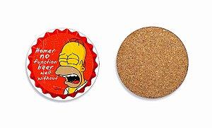 Porta Copos Simpson Chorando