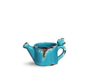 Cachepot regador Pássaro Blue