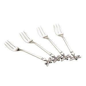 Conjunto 4 mini garfos Libélula