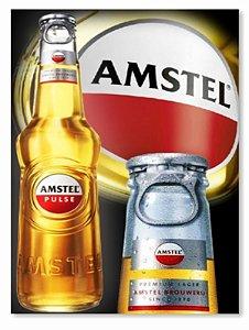Placa Amstel Garrafa
